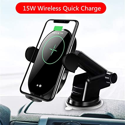 10W Qi Fast Charging Auto Clamp Car Mount Windshield Dash /& Air Vent Phone Holder for iPhone 11//11 Pro Max//Xs Max//XS//XR//X//8//8+ ALLSUN Wireless Car Charger etc Samsung Galaxy Note 9//S20//S10//S9//S8