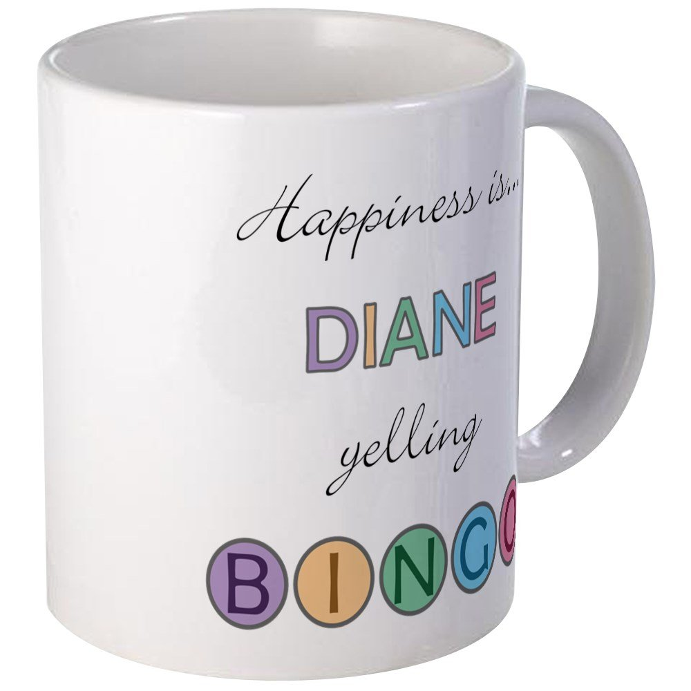 CafePress - Diane BINGO Mug - Unique Coffee Mug, Coffee Cup by CafePress