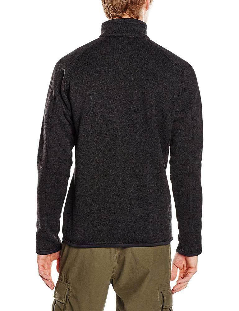 Patagonia Men's Better Sweater 1/4 Zip, Black, SM by Patagonia