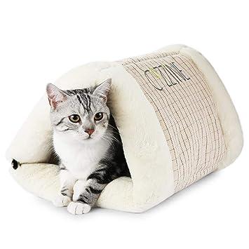 GBlife Portatíl Cojín Extraíble Suave Cama de Gatos Perros Pequeños Casa para Mascotas y Sofá Multifunción Habitación de Perros Pequeños Camas ...