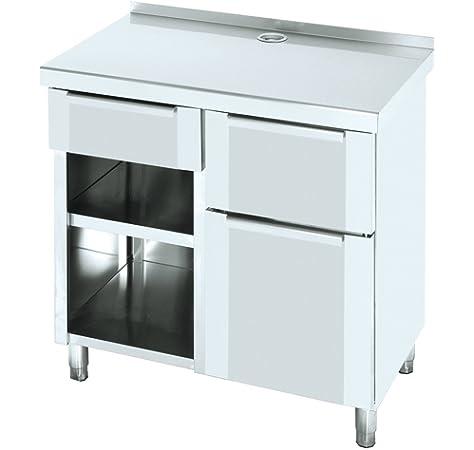 Macfrin 1220 Mueble de 250X60 Cafetero Trasbarra: Amazon.es: Industria, empresas y ciencia