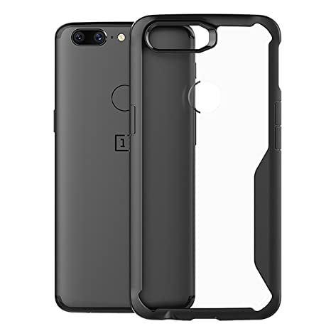 check out 328ac 8eca3 Oneplus 5T Case, FugouSell Ultra Thin Premium Transparent Case for Oneplus  5T Smartphone Soft TPU Frame Hard PC Bumper Back Case Cover [Slim Cushion /  ...