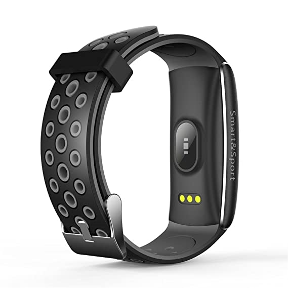 Xinan Reloj Inteligente Bluetooth Pantalla táctil Sport Phone Mate para iOS Android para iPhone (❤️Gris): Amazon.es: Relojes