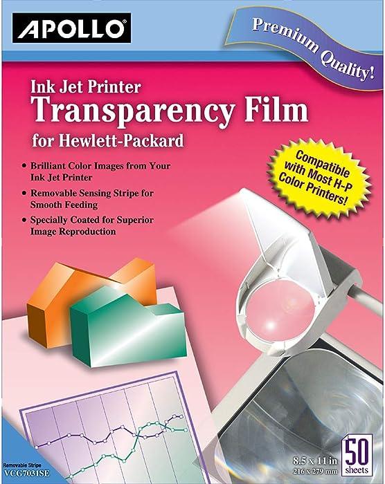Top 9 Transparency Paper Hp Inkjet