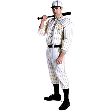 Desconocido Disfraz de jugador de béisbol para hombre  Amazon.es ... 4166f1c2e8e