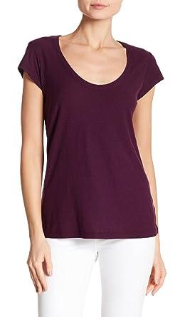 8c1015ef1ae Amazon.com: James Perse Women's White Scoop Neck T-Shirt: Clothing