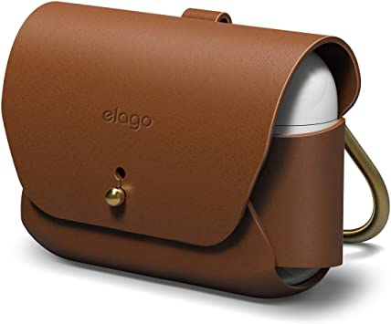 Amazon Com Elago Leather Case With Keychain Compatible With Apple