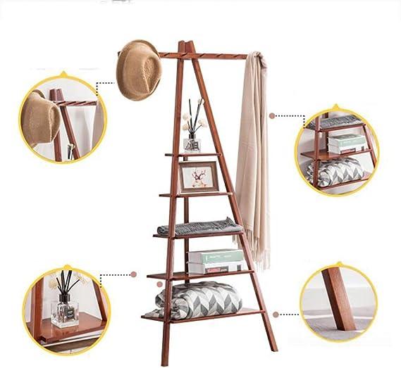 Estantes de pared MEIDUO Ladder Librería Escalera Estante Estante ...