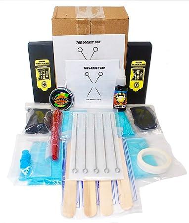 Amazon.com: Hand Poke and Stick Tattoo Kit - Clean & Safe Stick ...
