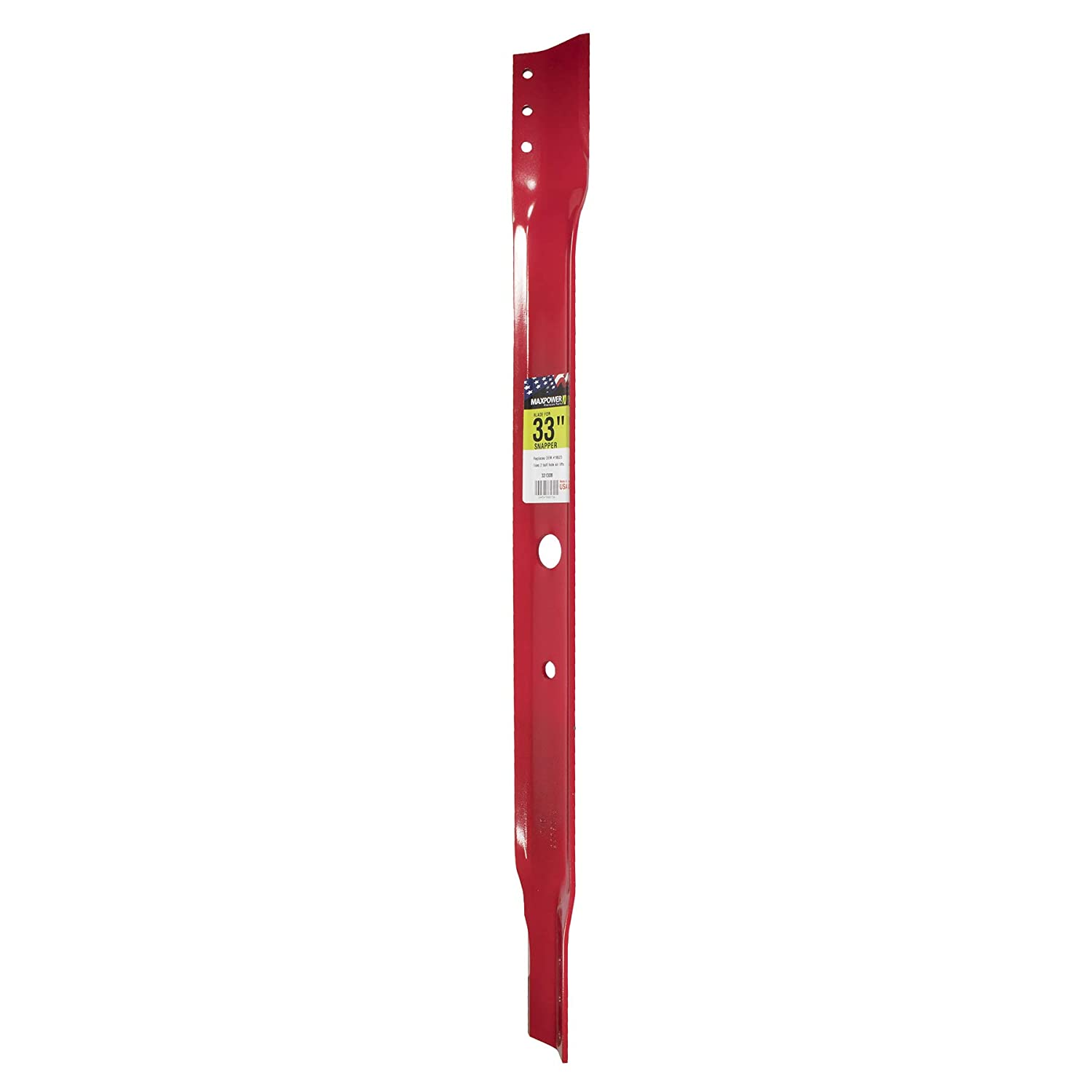 "MaxPower 331308 Mower Blade for 33"" Cut Snapper Replaces 19523, 7019523"