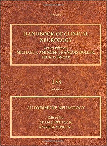 Autoimmune Neurology: 133 (Handbook of Clinical Neurology)