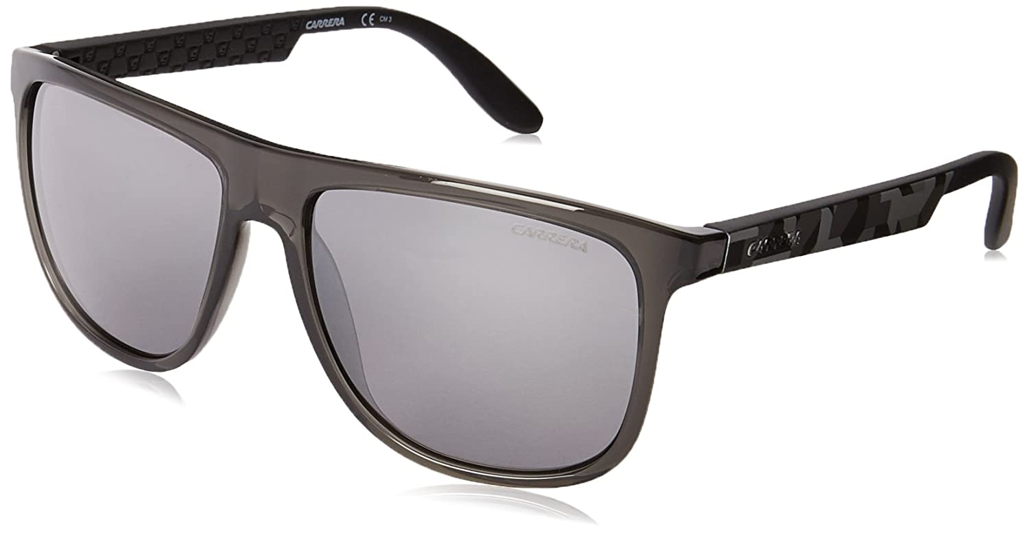 Carrera CA5003S Wayfarer Sunglasses Sunglasses Carrera 5003 Black Square BIL CARRERA50039O_BIL-58