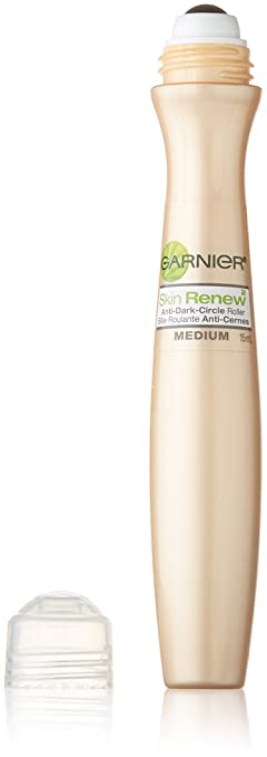 Garnier SkinActive Clearly Brighter Sheer Tinted Eye Roller, Light/Medium, 0.5 fl. oz.