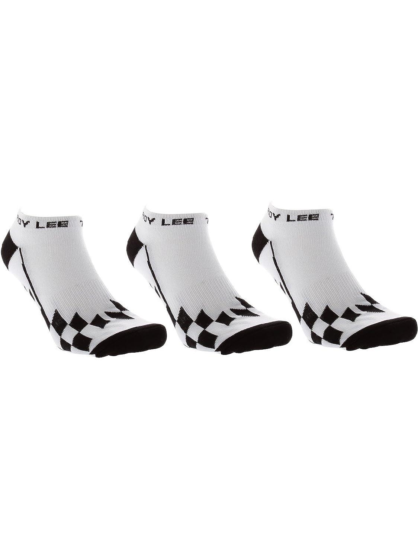 Troy Lee Designs Adult Low Cut Checker Socks Size 10-13 White