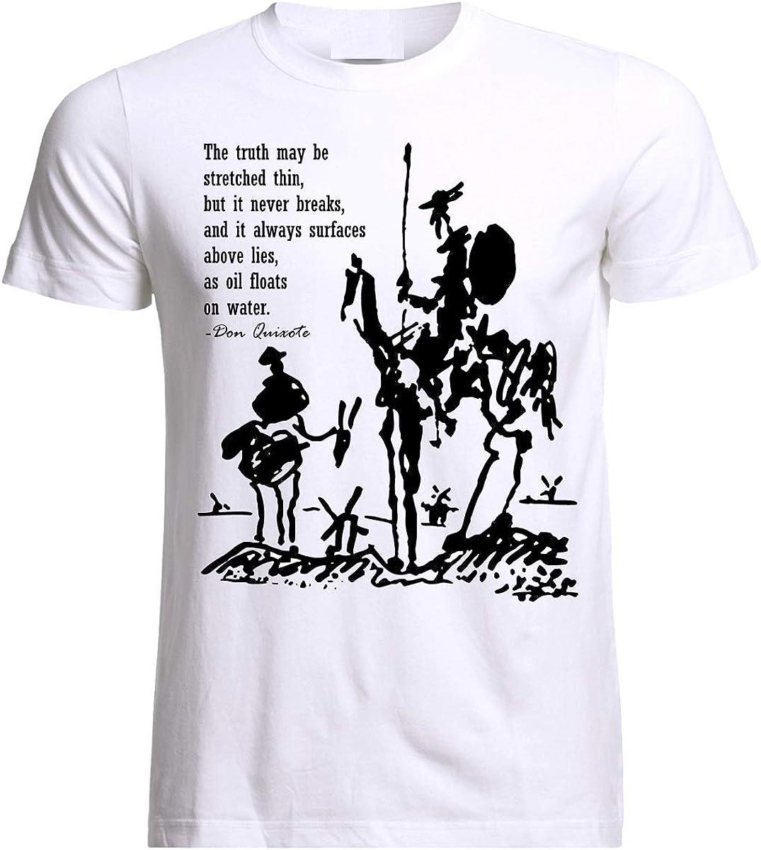 Don Quixote Sancho Panza Quotes Picasso Miguel de Cervantes ...