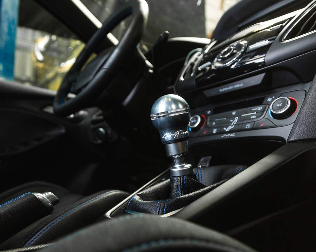 Agency Power AP-FOCRS-305-SM Shift Knob 6Speed Aluminum Smoke Ford RS | Focus ST