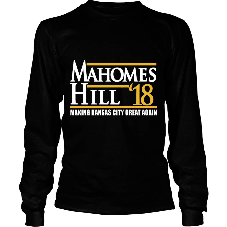 Mahomes And Hill T Shirt Making Kansas City Grear Again T Shirt Tees 1533