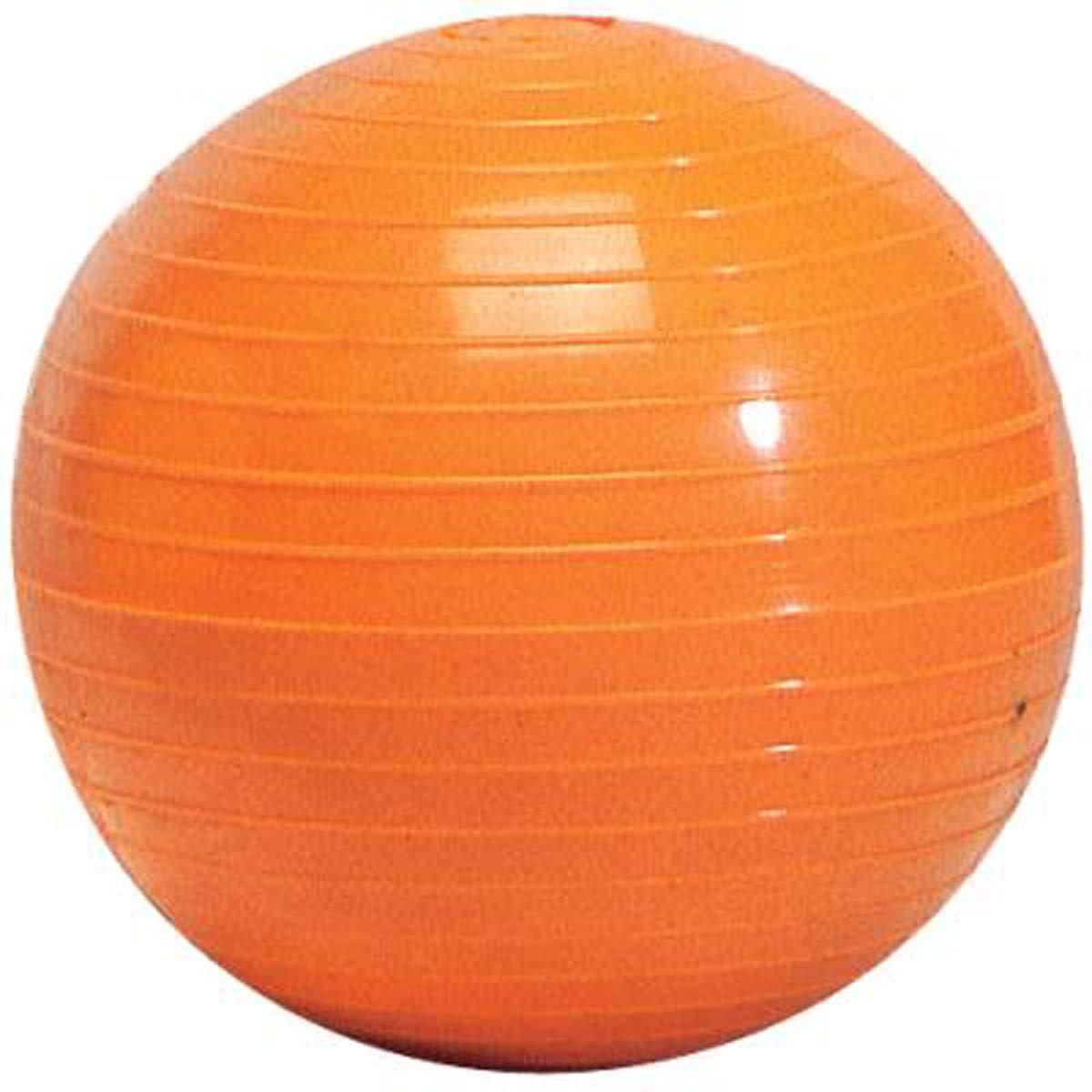 Visiodirect Balle lest/ée stri/ée Coloris Orange Poids 500 g