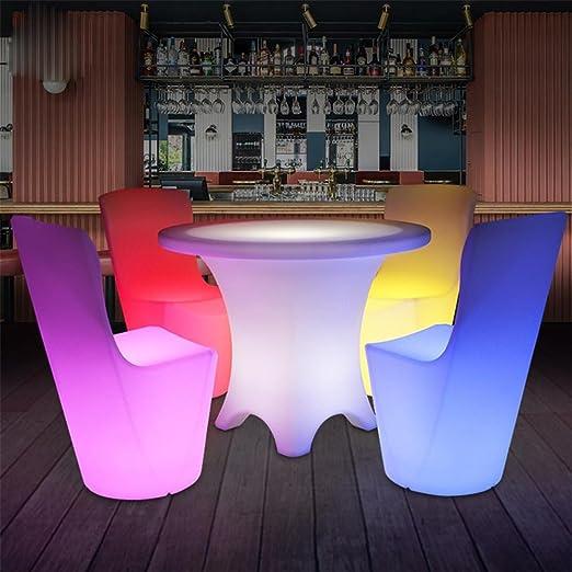 Tavoli E Sedie In Plastica Per Bar.Xiaominzi Natale Decorativi Lampada Led Di Plastica Luminosi