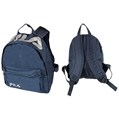 Small Backpack School Lunch Bag Kids Mini Rucksack Fila Marshall (Navy)   Amazon.co.uk  Clothing