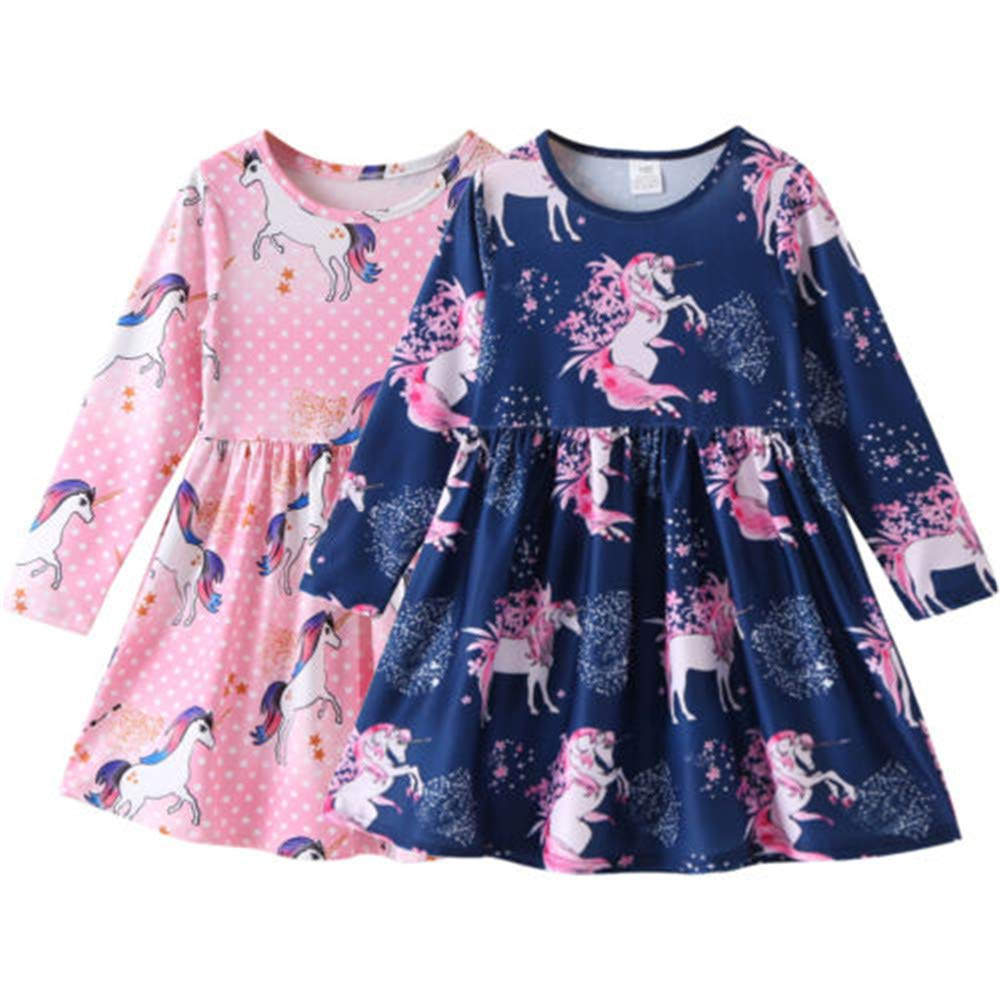 Wang-RX Niños Baby Girls Floral Party Pageant Tutu Princess ...