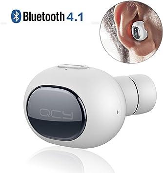 QCY Auricular Bluetooth 4.1 Mini Casco Inalambrico con Micrófono ...
