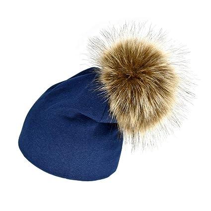 Amazon.com  Little Kids Solid Color Winter Warm Hat 14843d956a5
