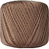 Crochet Thread - Size 10 - Color 33 - LT BROWN - 2 Sizes - 27 Colors Available