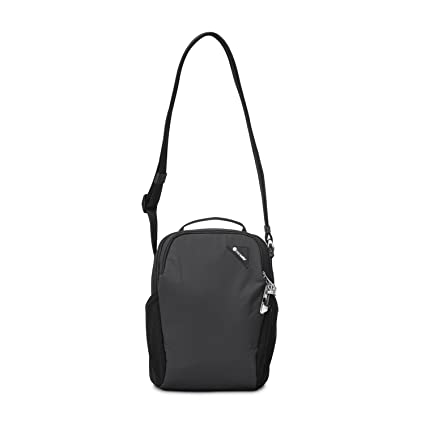 7bec7fc1f Pacsafe Vibe 200 Anti-Theft Compact Travel Shoulder Bag, Black: Amazon.co.uk:  Luggage