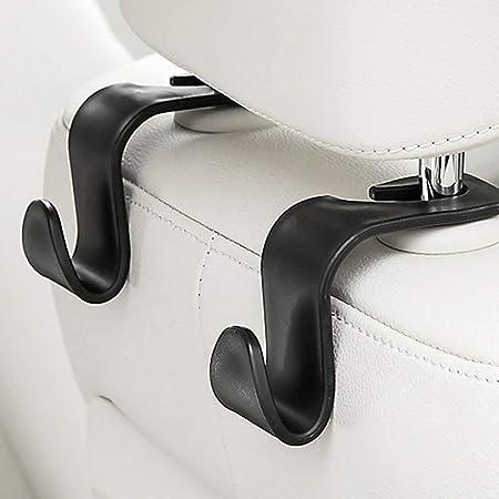 Auto Aufbewahrungstasche Sitzlehnenhaken Auto Versteckte Kopfst/ütze Kleiderb/ügel Einkaufstasche Autozubeh/ör Aufbewahrungsb/ügel Haken Paperllong/®