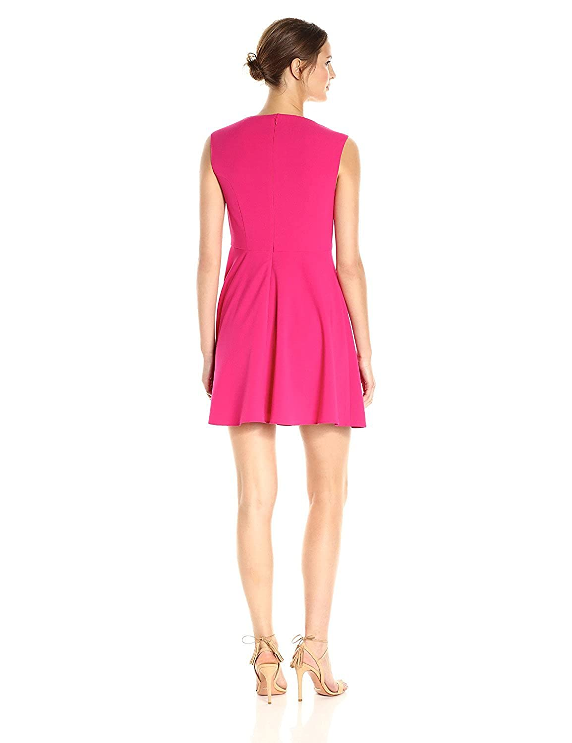 French Connection Womens Whisper Light Fit and Flare Dress