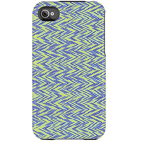 Uncommon - C0020-BY - Apple iPhone 4/4S Capsule Hülle in Zagged Blau