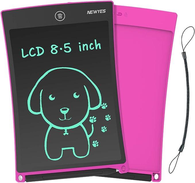 Festnight Tableta de Escritura LCD Tablero de Dibujo y Escritura de 8,5 Pulgadas para ni/ños y Adultos Papel para Escribir a Mano Doodle Pad para Escuela Oficina Verde