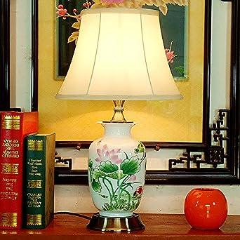 Charmant Muidege Desktop Lampe, Garten, Modernes American Style Chinesische Reines  Kupfer, Ceramica Raum