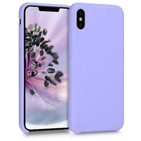 coque apple iphone xs gris lavande