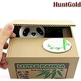 HuaYang - Funda Hucha Lindo Animal Estilo Robar Monedas Centavos Dólar Penny Ahorro Dinero Caja Tarro Panda