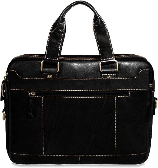 Jack Georges   Top Zip Case,Black,One Size