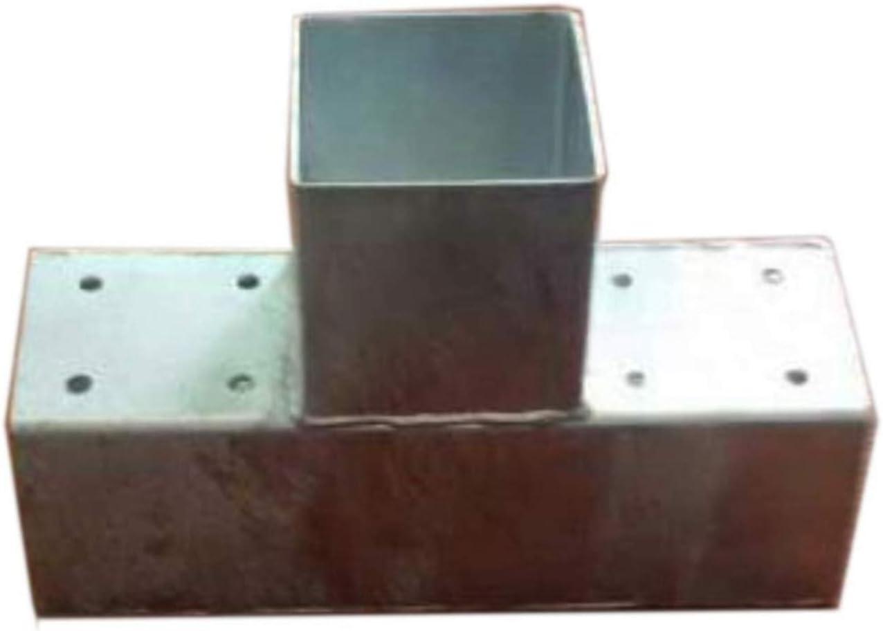 Gartenpirat Conector Poste Madera Cuadrado, 3 Postes, 9x9 cm ...