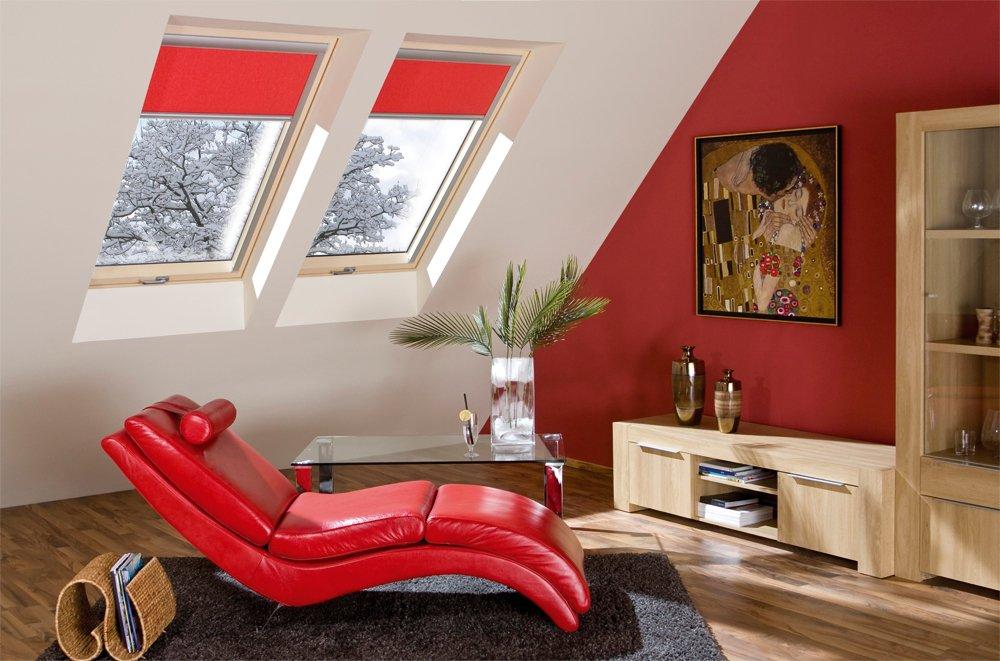 FAKRO Dachfenster ultra-energiesparendes Schwingfenster Aus Holz FTT U8 Thermo 114 x 160