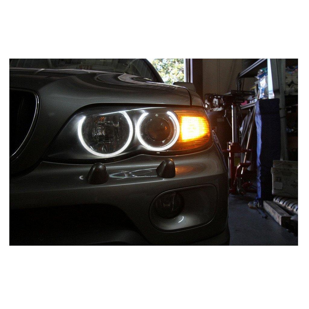 5W 7000K alto potere bianco LED Angel Eyes anello di marcatura delle lampadine per la BMW Serie 5 6 7 X3 X5 Fit E39 E53 E60 E63 E64 E65 E66 E83 EHAO 2
