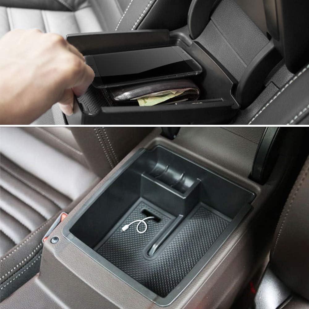 MLING Auto Mittelkonsole Organizer Armlehnenbox Sekund/äraufbewahrung f/ür Magotan B8,Passat B8