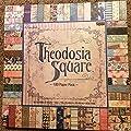 Theodosia Square 12x12 Scrapbooking Paper Pad, 180 Sheets, Vintage,Ephemera, French, Newsprint