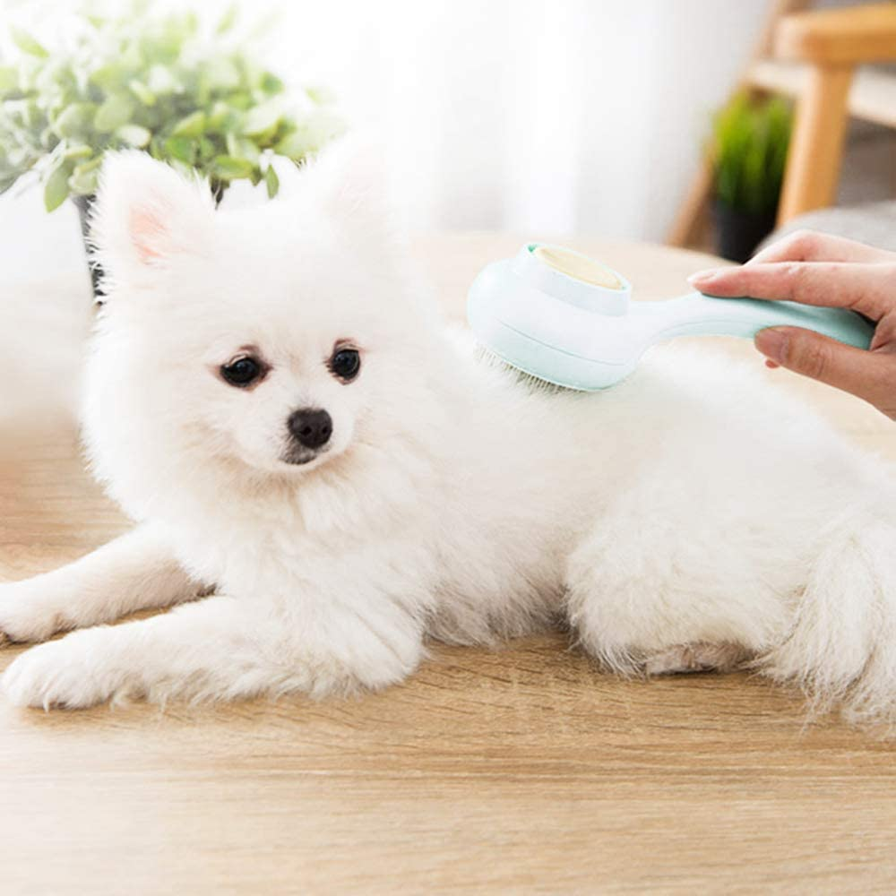 AblePet Dog Cat Premium Detangler Comb Grooming Brushes for Pets with Long or Middle Hair Hair Removal Brush Stainless Steel Combs