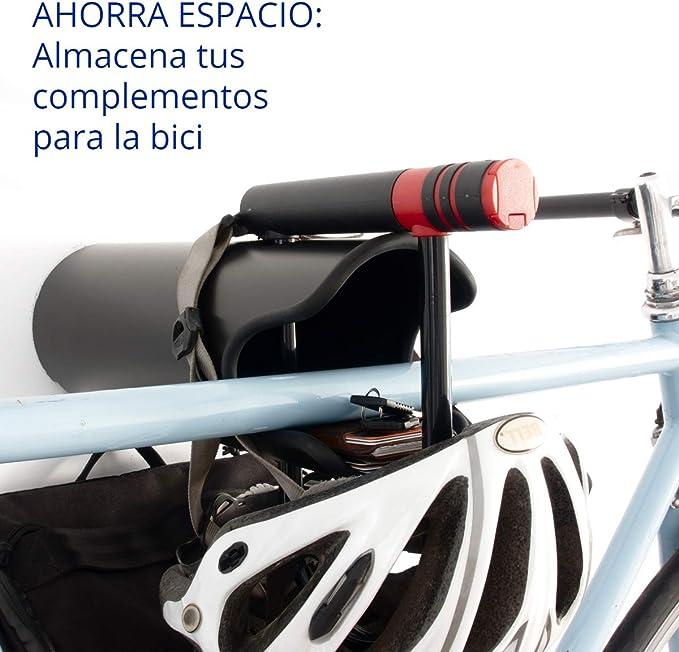 Zamurano - Soporte - Colgador ANTIRROBO de Pared para Bicicleta ...