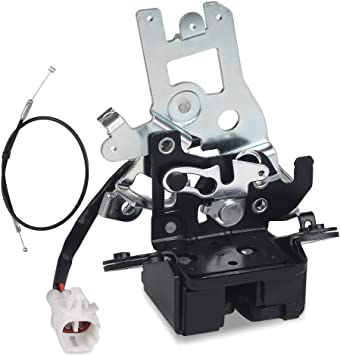 SPEEDWOW Liftgate Lock Latch Tailgate Latch for 2001-2007 Toyota Sequoia Replace 69301-0C010 64680-0C010 931-861 693010C010 646800C010 Back Lock Sub-Assembly