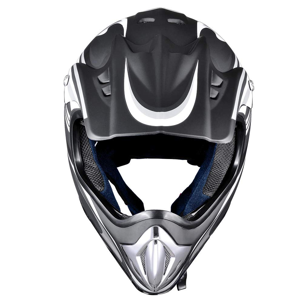 AHR DOT Outdoor Adult Full Face MX Helmet Motocross Off-Road Dirt Bike Motorcycle ATV XL