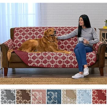 Amazon Com Chiara Rose Anti Slip Armless 1 Piece Sofa