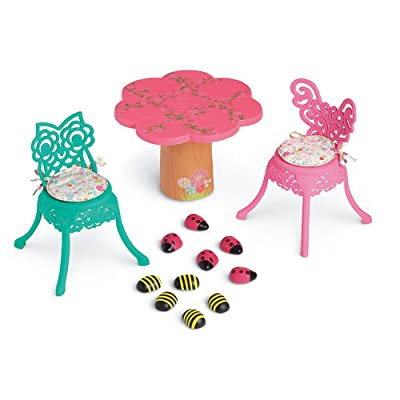 American Girl WellieWishers Garden Party Table & Chairs: Toys & Games