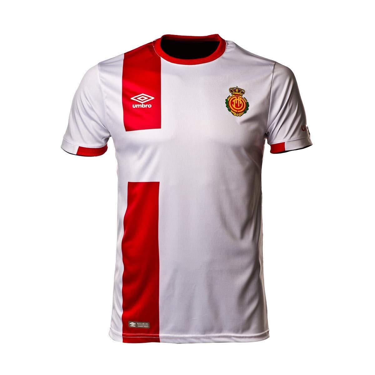 Umbro RCD Mallorca Segunda Equipación 2018-2019, Camiseta, Blanco ...