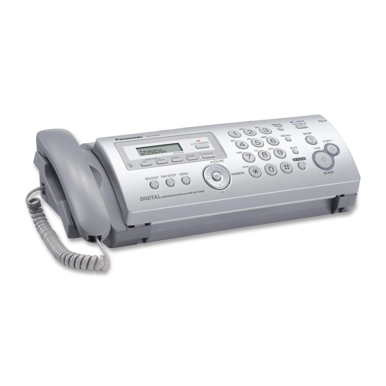 PANKXFP215 - Panasonic Fax Machine KXFP215E 16030017